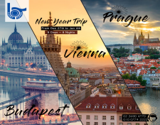 Prague - Budapest - Vienna New Year Trip